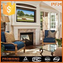 Elegent customized hot sale top grade clay chimenea fireplace for house & villa decoration