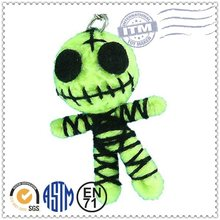 Fashional Style Cheapest Price Soft Plush Toy voodoo doll keychain sale