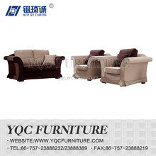 Y1110# hot sale chinese style antique big arm fabric sectional sofa
