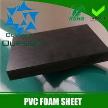 Black Thick Celuka PVC Foam Board Engraving PVC