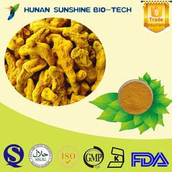 100% Natural Turmeric Root Extract/ Curcuma longa L. / 50% 90% 95% 98% Curcumin HPLC