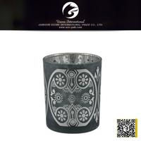 unique votive glass candle holder container