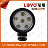 2015 hottest led work light for tuning light, cars, trucks, suv 60w led work bulb
