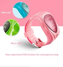 newest mini waterproof GPS wrist bracelet watch with light sensor for anti-of and anti loss