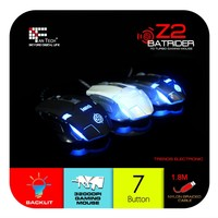 Z2 High Quality DPI Changeable Professional 7D Gaming Mouse Fantech