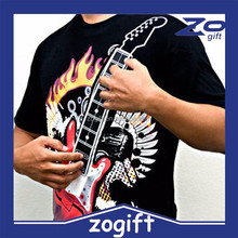 ZOGIFT Clearance Sale Electronic Rock Guitar EL T shirt
