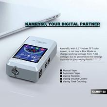 Shenzhen manufacturer New electric cigarette vapor mod kamry 60watt e-cig box mod for sale