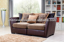 2015 Home furniture products wooden frame sofa traditonal fabric sofa