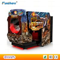 Funshare 2015 new design video shooting game machine laser shooting simulator arcade game machine