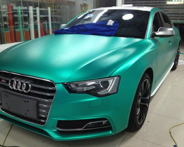 Fashion car paint feel car body protection full body for Matte paint car