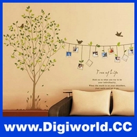 Tree Photo Frame Wallpaper Kids Wall Sticker for Kids Rooms