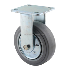 Zinc plated heavy duty noise avoid TPR wheel