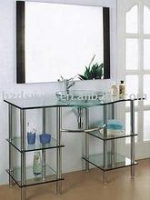 glass cabinet/medical glass cabinet/glass liquor cabinet