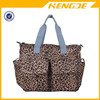 2015 Deluxe Designer little leopard Diaper Tote Bag