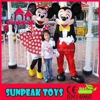 M-003 Mickey And Minnie Mascot Costume