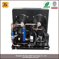 New freezer water cooled vertical unit condensing unit