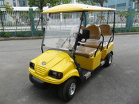 EZ GO New Left Steering Electric Golf Carts with Solar Panel Canopy for Option (M4)
