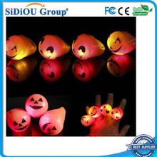 led kids finger lights orange for parties