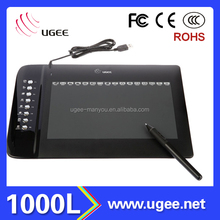 Popular Pad UGEE M1000L 3D Cartoon Animation Image Design Drawing Graphic Tablet