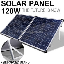 120w portable foldable outdoor solar panel