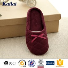super nylon dot sole soft bedroom slippers