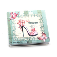 compact mirror for ladies ,hot selling compact mirror popular make up mirror