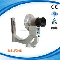 (MSLPX06-G) Low Radiation Protable Digital X-Ray Machine Price with Flouroscopy Function
