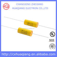 Axial Metallized Polypropylene Film Capacitors 4uf 300v CBB20 Capacitor
