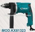 Makita hp1630 13mm modelo taladro del impacto eléctrico de la máquina( kx81323)