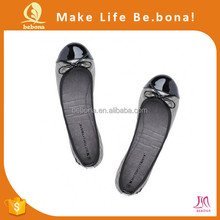2015 New lady folding nude baller flat shoes for travel