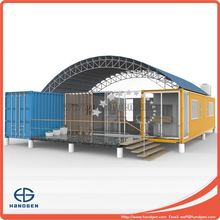 Modified Container Kiosk with CE,CSA&AS certificate