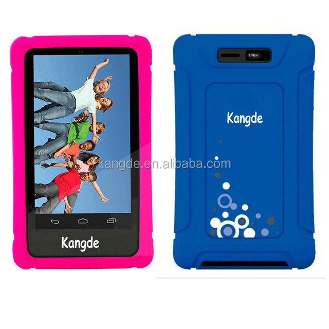 "shockproof 7 kids tablet case, kids 7 inch tablet case, 7"" tablet silicon case cover"