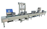 vegetable oil Automatic Weighing Filling Production Line YGF-2JW/200