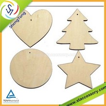 wholesale unfinished wood crafts, wooden craft shapes, small wood crafts