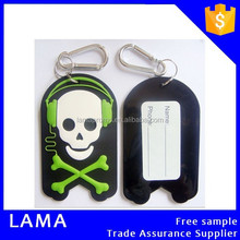 Promotional Soft Rubber Travel 3D Luggage Bag Tag