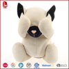 Hot sale cheap lifelike plush cat toy blindfolded cute cat