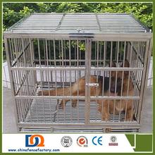 Double Door square tube Metal Heavy Duty Dog Crate