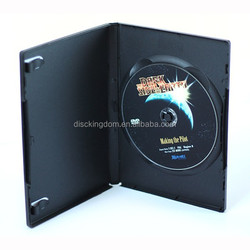 Recycled amaray dvd case, black long dvd case, plastic dvd boxes