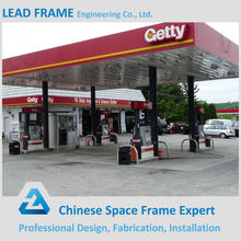 More Security and Beautiful Design Gas Station Canopy with High Quality