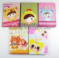 Japanese Rilakkuma leather case for ipad mini with holder