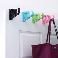 J548 Quality Plastic Hangers Clothes Coat Trouser Bar Skirt Hooks plastic coat hook