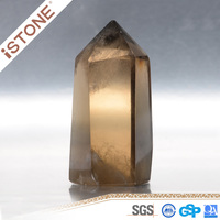 Natural Smokey Quartz Crystal Points For Home Decoration