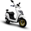 Cool double lithium battery electric motorcycle long distance scooters for adults
