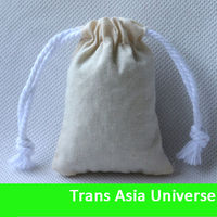 Hot Selling wholesale small jute bags drawstring