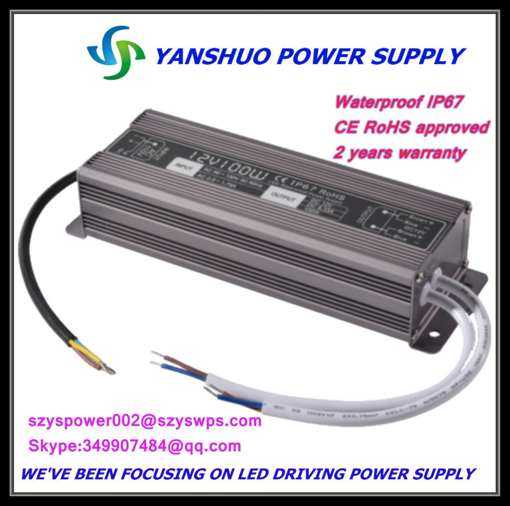 Electronic Equipment Supplies Amp Services : Waterproof electronic led driver ip amp dc power