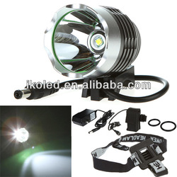 1800 Lumens 10W High Power CREE 3 Modes Head Bicycle Light XML T6 LED Bicycle Bike Light Head Lamp 2 in 1