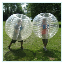High quality 1.0mm TPU inflatable bumper ball/ body zorbing bubble ball/bubble ball walk water