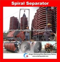 Séparateur en spirale titane, séparé