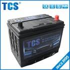 Jis padrão de ciclo profundo mf auto bateria de carro 12 v 65ah