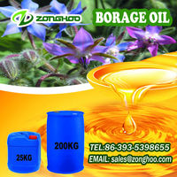 100% fresh liquid cholesterol free borage oil